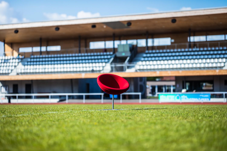 Gulde Mielke Frey Kampagne Balingen Stadion Spielfeld 1