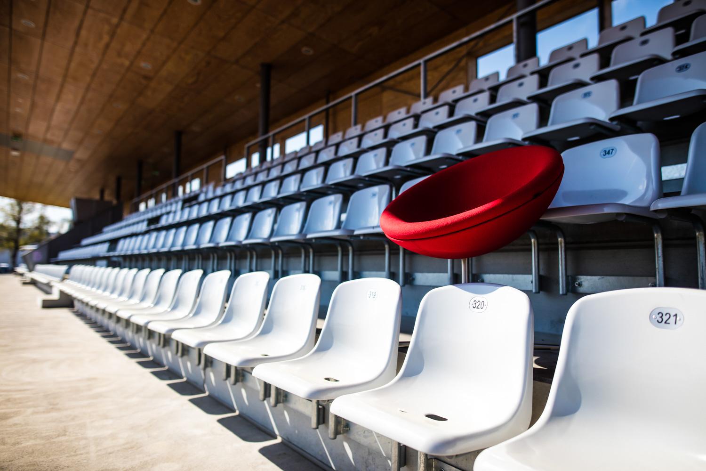 Gulde Mielke Frey Kampagne Balingen Stadion Tribüne