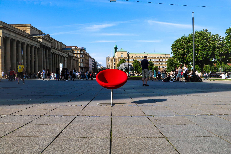 Gulde Mielke Frey Kampagne Stuttgart Schlossplatz Start
